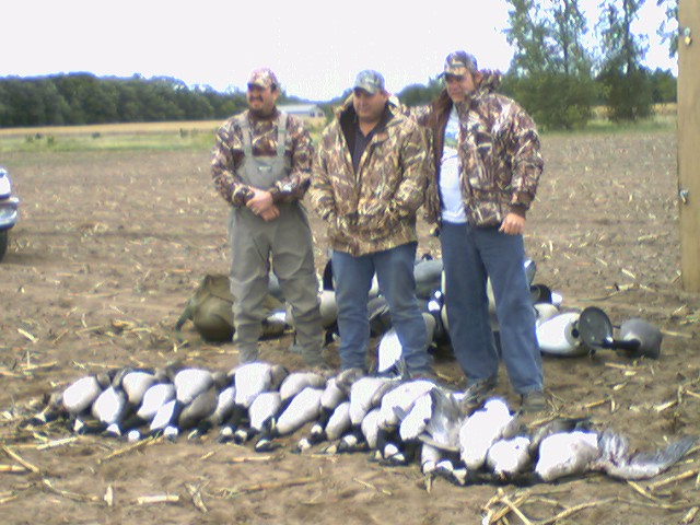 canada goose limit with clients